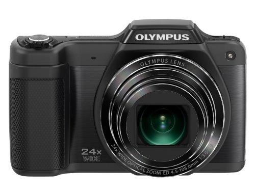 """Olympus SZ-15 - Cámara compacta de 16 MP (Pantalla de 3"""", Zoom óptico 24x, estabilizador de Imagen óptico) Color Negro"""