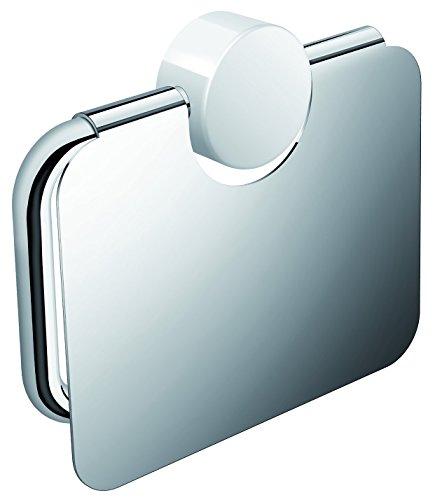 Hewi Heinrich Wilke WC-Papierhalter, Chrom, Silber