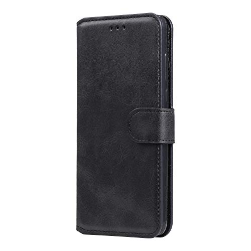 Hülle für LG K41S / K51S Hülle Handyhülle [Standfunktion] [Kartenfach] [Magnetverschluss] Tasche Etui Schutzhülle lederhülle klapphülle für LG K51S / K41S - JEYY010683 Schwarz