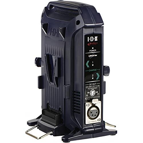 IDX VL-2X 2-Channel Charger for V-Mount Li-Ion Ni-Cad Batteries