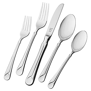 ZWILLING J.A. Henckels Provence 45-pc 18/10 Stainless Steel Flatware Set