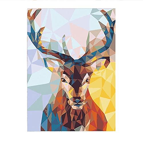 Rompecabezas de 1000 piezas para adultos ciervos-6000 prácticamente sin rompecabezas, juguetes de descompresión de juego de polvo regalo decoración familiar rompecabezas