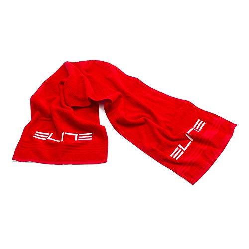 Elite - Asciugamano per la seduta Home Trainer ZUGMAN 130 x 30 cm, protezione del telaio e spugna del sudore durante lo sforzo