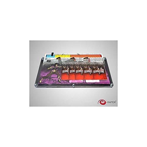 E-Raptor 's era93689–Juego de Cartas Organizador–zombicide