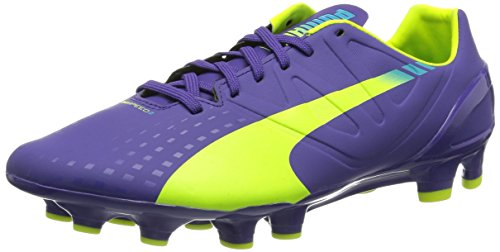PUMA Evospeed 2.3 FG, Chaussures de Football Homme, Violet (Prismviolet Yellow Blue), 41 EU