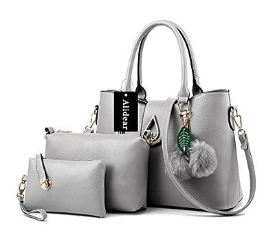 Alidear Nouvelle marque et haute qualité 2018 Nouvelle Sac à Main Sacoche Bandoulière Epaule Croisé Femme Shopping OL 3 Sac Ensemble