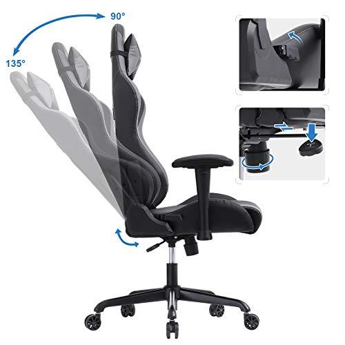 SONGMICS Gaming Stuhl 150 kg Bürostuhl Bild 3*