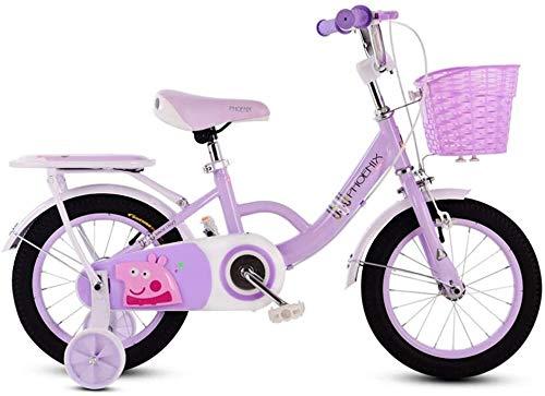 Bicicletta Bambini Bicicletta 3-6-7-8 Anni Che Biciclette Boy Girl Bicicletta Pieghevole, Dimensione: 14in (Color : 2, Size : 14in)