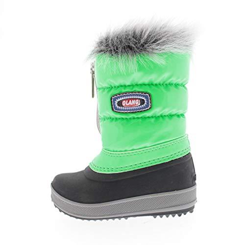 Olang Schuhe für Babys Stiefel Kelly Kid Grün KELLYKID868 (Numeric_19)