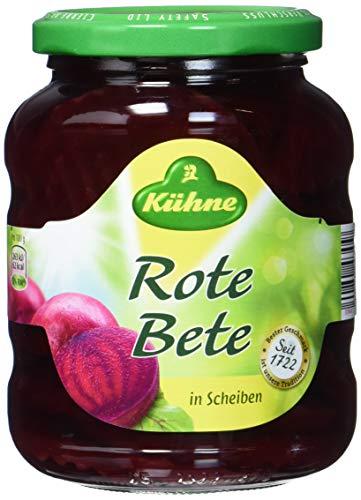 Kühne Rote Bete Scheiben, 10er Pack (10 x 370 ml)