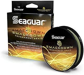 Seaguar  Smackdown Braided Fishing Line, Green, 50-Pound/150-Yard