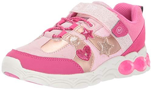 Stride Rite Girls' SR Ruby Sneaker, Pink, 11 M US Little Kid