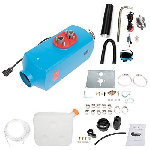 Find Discount AUTOMUTO 5KW 12V Diesel Air Heater Parking Heater Diesel for Caravan RV and Bus(Blue)