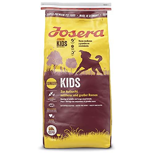 JOSERA Alimento Seco Para Perros : Comida Para Perros Pienso Alimento Seco Saludable Galletas Proteína Saco Perro Kids 15 kg