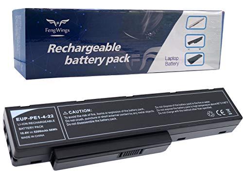 FengWings® 10.8V 4400mAh SQU-712 SQU-714 EUP-PE1-4-22 Reemplace la batería del portátil por Packard Bell EasyNote MH35 MH36 MH45 MH85 MH88 F1235 F1236 F1245 Hera C Hera GL Hera G