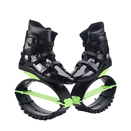 YLJXXY Mujer Zapatos de elástico Salto Hombre Zapatos Zancos Rebote Rango de Carga de Peso 50-110 kg per Adulti e Adolescenti
