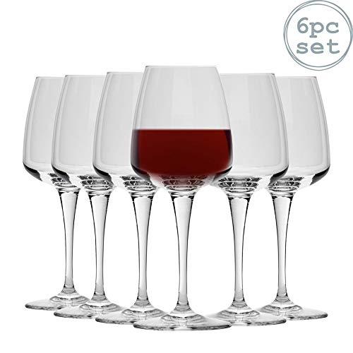Bormioli Rocco Verres à vin Rouge Aurum de Pack de 6-520 ML (18,3 oz)