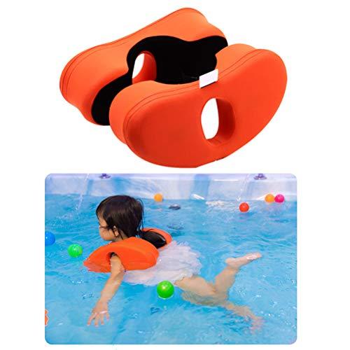 Naduew Anillos de natación para Hombros EPE Espuma No Inflable niños natación Ayuda para el Entrenamiento Anillo de natación Anillos de natación para bebés