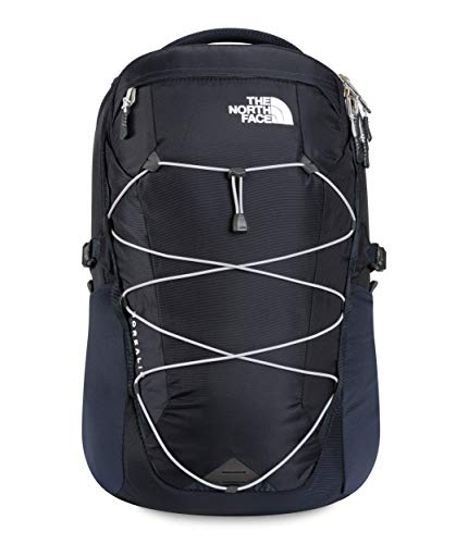 The North Face Borealis Laptop Backpack - Bookbag for Work, School, or Travel, Aviator Navy/Meld Grey, One Size