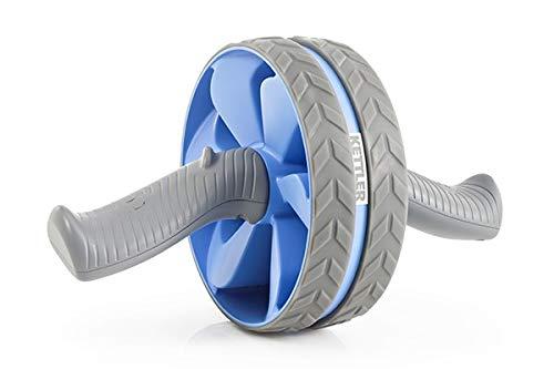 Kettler Erwachsene Ab Wheel Oberkörpertrainer, taubenblau/Grau, L