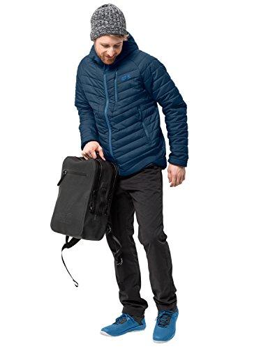 Jack Wolfskin Herren AERO Trail Men Isolationsjacke Winddicht Wasserabweisend Wetterschutzjacke, Poseidon blau, XL