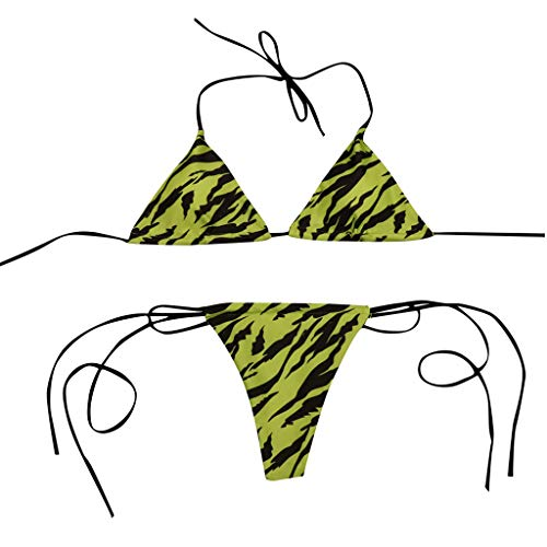 ZEELIY Damen Badeanzug Set 2019 Sommer Frauen sexy Spot drucken Bikini Mode Sling Tankini Bademode Schwimmen Push Up Badeanzug