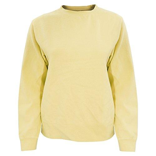 Comfort Colors Womens/Ladies Crew Neck Sweatshirt (2XL) (Butter)