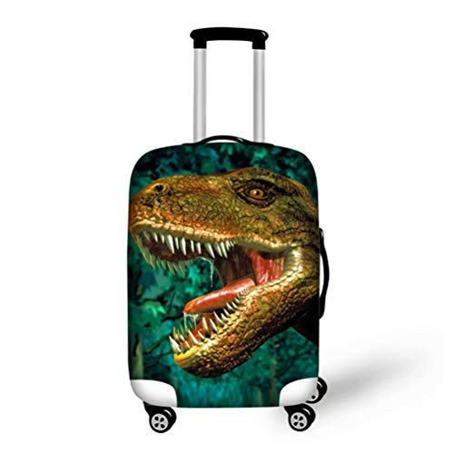 chaqlin Suitcase Protective Cover Cool Animal T-rex Dinosaur Luggage Cover Fit 18-21inch