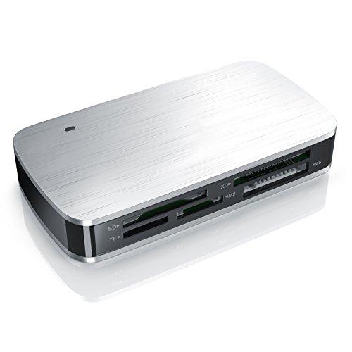 CSL - USB 3.0 All in 1 Kartenlesegerät - Multi Cardreader - USB 3.0 Super Speed - bis zu 5 Gbit s - für SD CF microSD MS Duo xD M2 - parallele Auslesung von Mehreren Speicherkarten