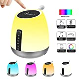 Bluetooth Speaker with Lights, WamGra Night Light Bluetooth Speaker, Smart Touch...