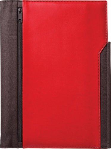 キングジムレザフェスノートカバーB5S赤1901LFアカ