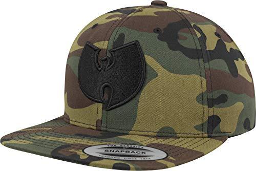Wu-Wear Camo Logo Black One Size Cap