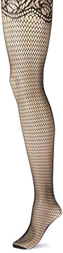 FALKE Damen Strumpfhosen Fish Trap, , 1 Stück, Schwarz (Black 3009), Größe: M