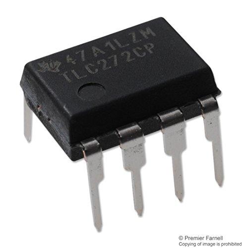 TLC272CP OPV 2-fach 2,2MHz 5,3V/µs DIP8 = TS272CN
