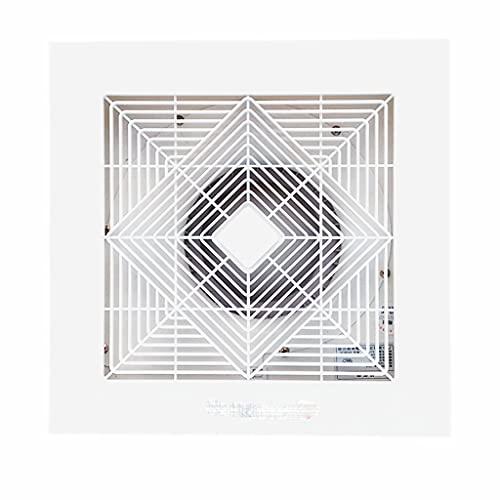 Yousiju Ventilador silencioso fino Ventilador de escape integrado para baño en el hogar Ventilador de ventilación de humo para cocina