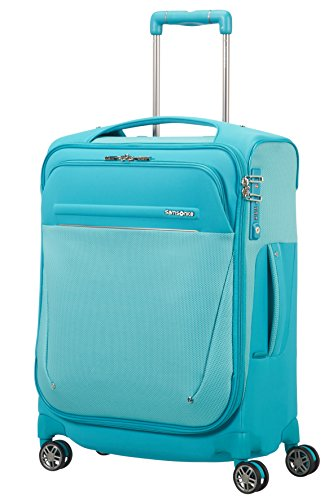 Samsonite BLite Icon Spinner Hand Luggage, 55 cm, 39 L, Blau (Capri Blue)