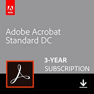 Adobe Acrobat Standard DC 3-YEAR Subscription [PC Online Code]