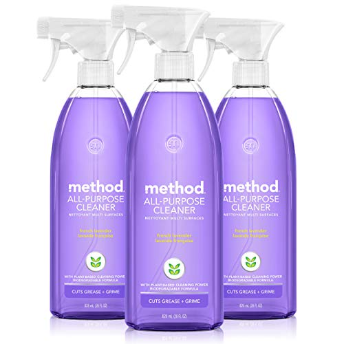 Method All-Purpose Cleaner, French Lavender, 28 Ounce, 3 pack,...