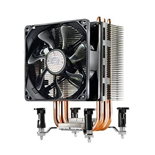 Cooler Master Hyper TX3 EVO - Système de refroidissement, compact et efficace, 3 caloducs à contact direct, ventilateur processeur PWM de 92 mm