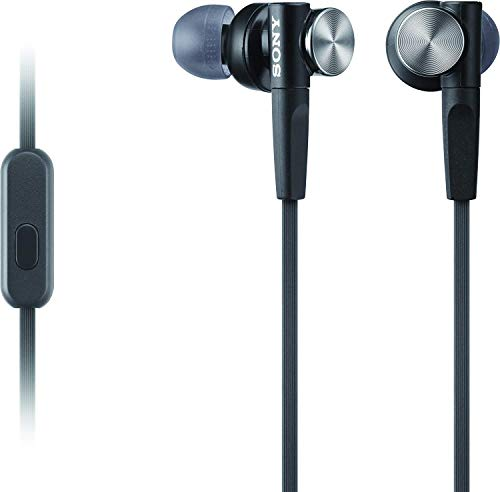 Écouteurs Sony intra-auriculaires extra graves Noir MDR-XB50AP / B - 2