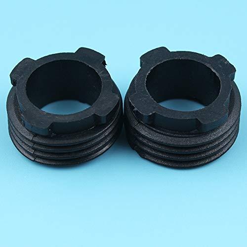 Haoyueda 2 unids/lote bomba de aceite Gusano engranaje compatible con Husqvarna 61 66 162 266 268 272 XP Jonsedieron 625, 630 Super II, 670 Champaw Choinsaw 5015138-01