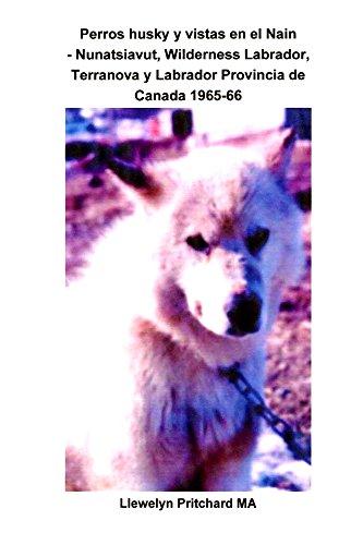 Perros husky y vistas en el Nain - Nunatsiavut, Wilderness Labrador, Terranova...