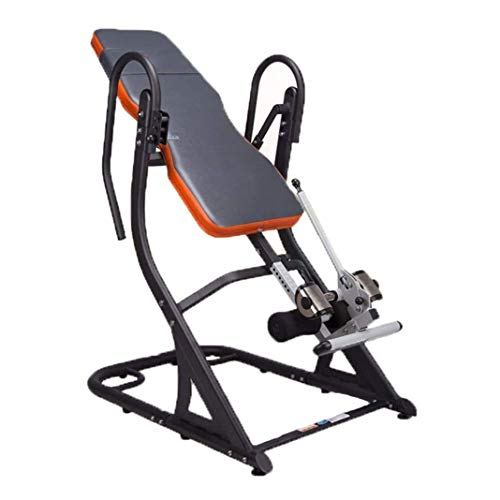 Great Deal! ZDMSEJ Gravity Heavy Duty Inversion Table, Fitness Chiropractic Back Stretcher Heavy Dut...