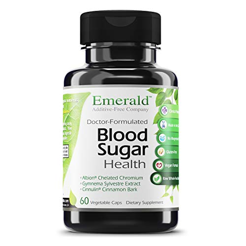 Emerald Labs Blood Sugar Health with Gymnema Sylvestre, Cinnamon Bark and Alpha Lipoic Acid to Support Glucose and Carbohydrate Balance and Support Minimizing Sweet Cravings - 60 Vegetable Capsules