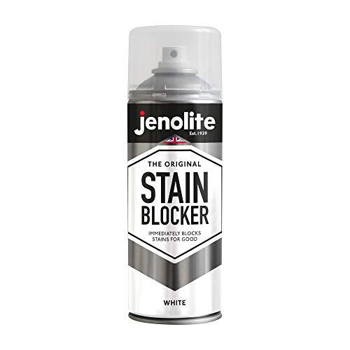JENOLITE Pinturas Antimanchas Spray - Pintura Anti-condensación y Anti-moho para Interior y Exterior - Blanco - 400ml