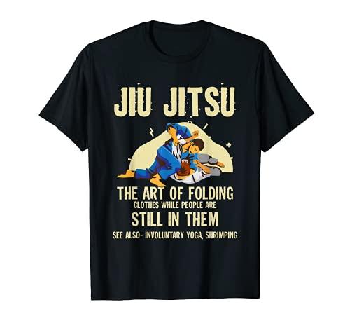 Jiu Jitsu Vintage Art of Folding Retro...