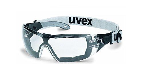 Uvex Schutzbrille pheos guard 9192180 Schwarz, Grau - 2