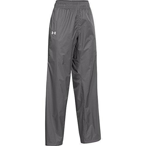 Under Armour Women's Ace Rain Pants (Small, Graphite/White)