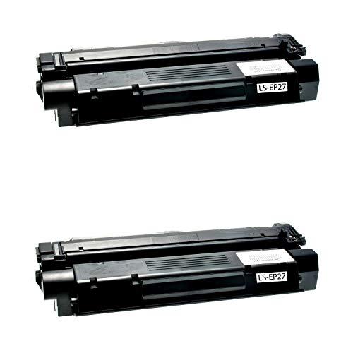 2 Toner kompatibel für Canon EP72 LBP 27 3200 I-Sensys LBP MF 3200 Series Laserbase MF 3100 3200 5600 5700 Series Lasershot LBP 3200 Series - 8489A002 - Schwarz je 3000 Seiten