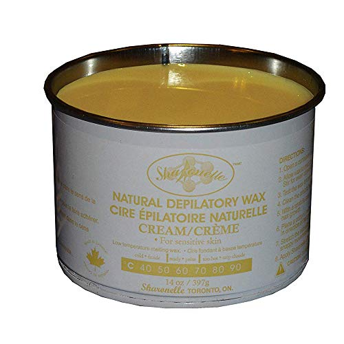 Sharonelle Natural Cream Soft Wax For Sensitive Skin in 14 oz. (1)